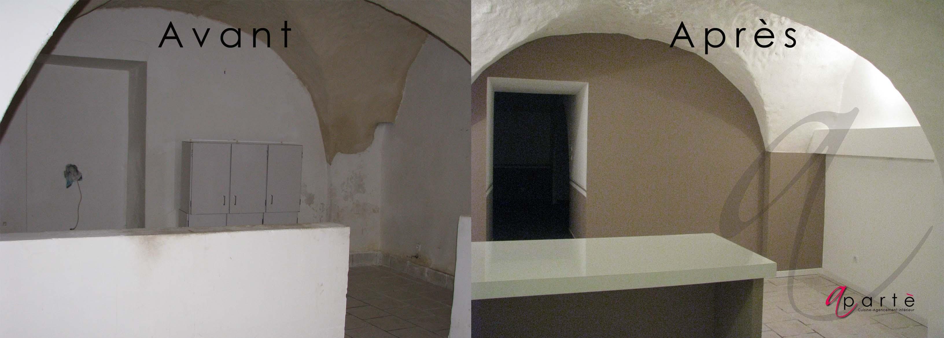 r novation total d un appartement style loft apart le blog. Black Bedroom Furniture Sets. Home Design Ideas